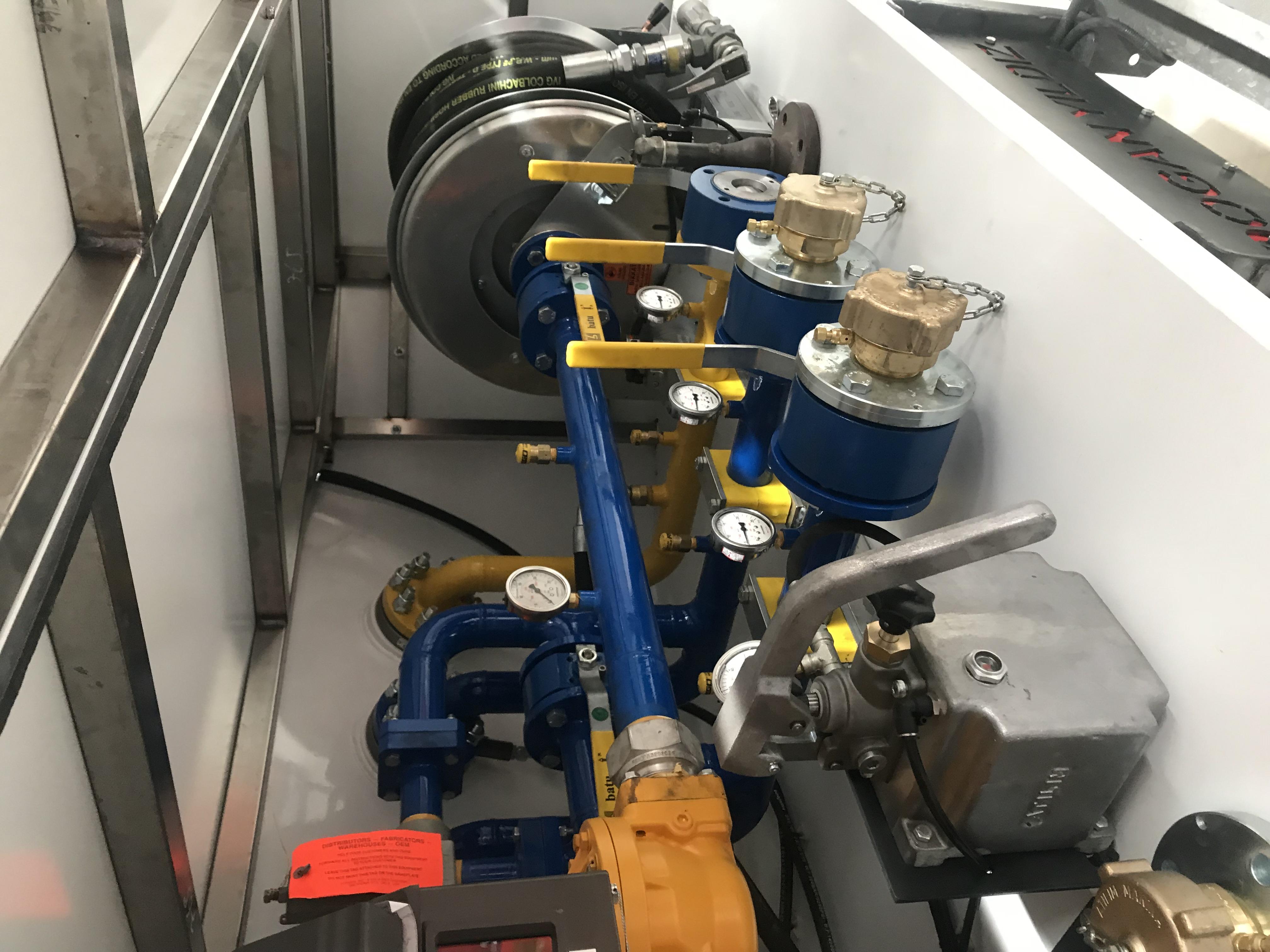 3-axle semi-trailer for transportation of LPG gases
