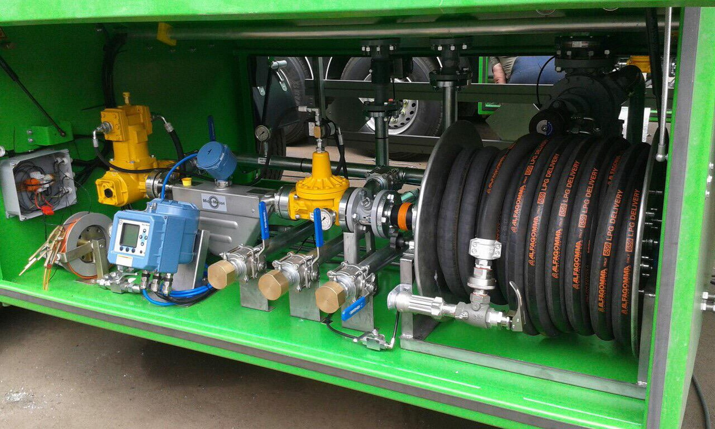 3- х осный полуприцеп для перевозки LPG газов